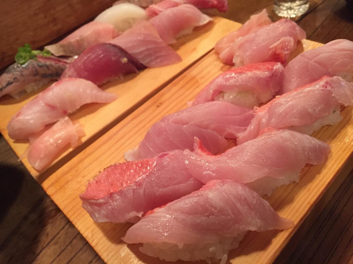 金目鯛寿司