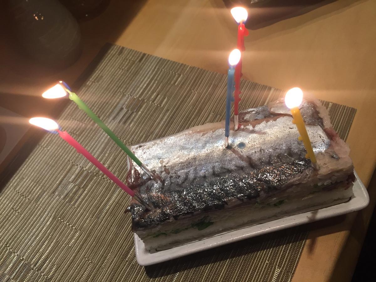変態的バースデーケーキ